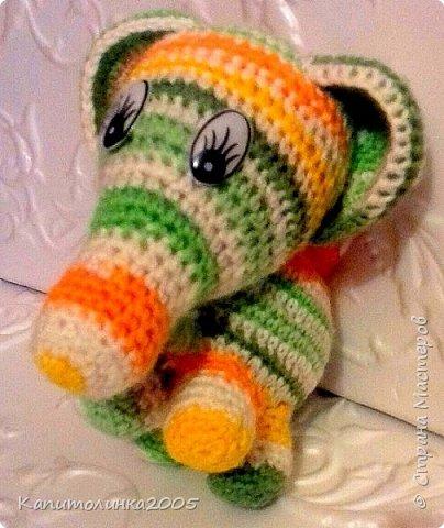 Всем приветик. Сегодня я вам покажу своего первого слоника. Думаю он не последний.  фото 2