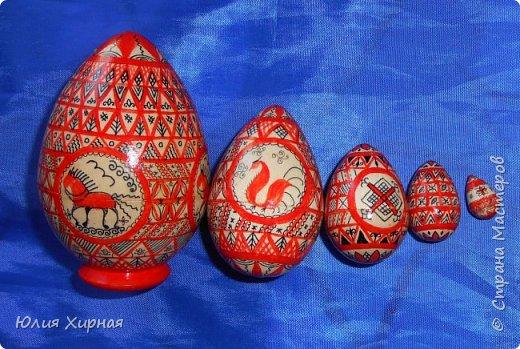 Мезенские яйца (разборные - 5 предметов) фото 17