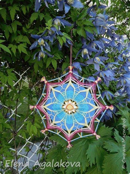 Еще одна мандала-цветок  фото 3
