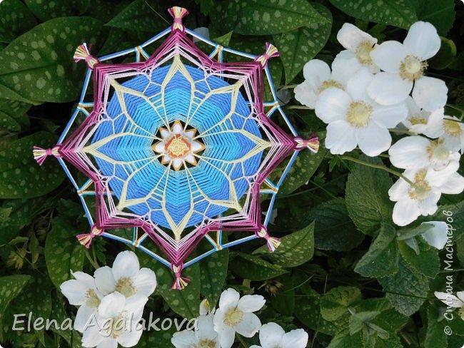 Еще одна мандала-цветок  фото 1