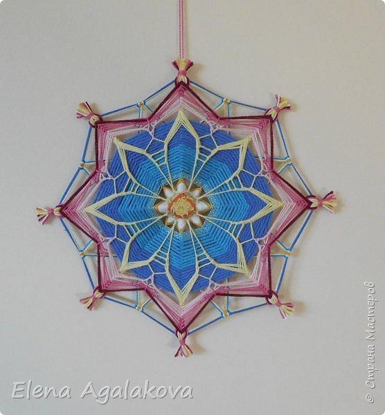 Еще одна мандала-цветок  фото 4