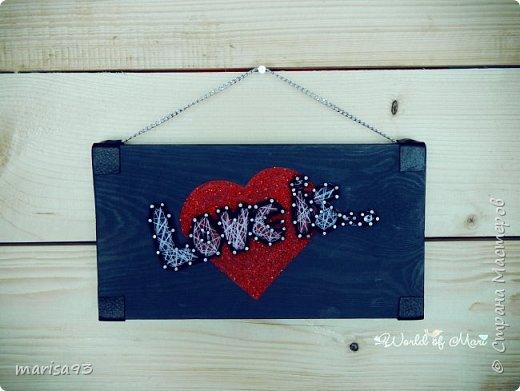 Интерьерные таблички Love фото 2