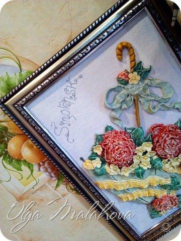 Эту картинку делала по мк  http://stranamasterov.ru/node/262034  Марисабэлька. Спасибо интересная техника оказалась. фото 28