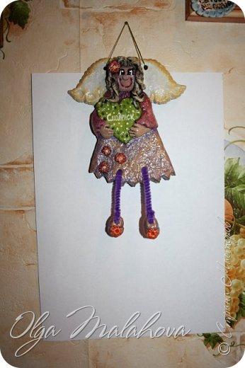 Эту картинку делала по мк  http://stranamasterov.ru/node/262034  Марисабэлька. Спасибо интересная техника оказалась. фото 9