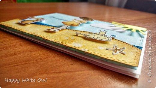 """Всем привет! Сегодня хочу поделиться с Вами серией открыток на тему """"Наслаждайся"""". А наслаждаться можно разным: жизнью, детством, летом. Хотелось вложить в них лёгкость и беззаботность. В работе использовала китайские штампы с детками и китайские ножи. Раскрашивала distress чернилами. фото 5"""