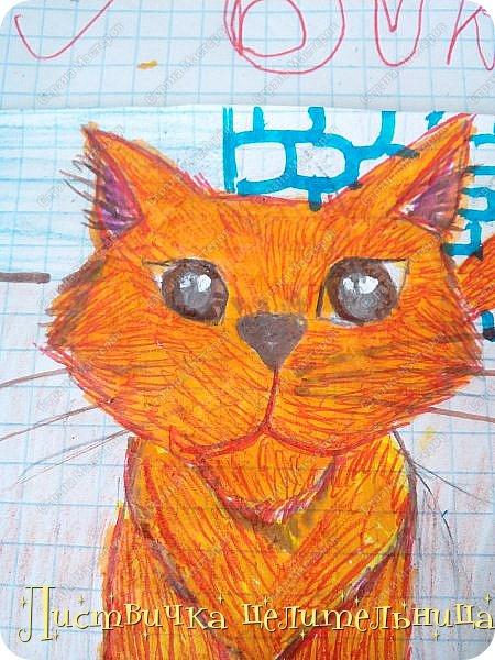 Привет всем! Я на конец то добралась до своих рисунков. Я рисую котов-воителей. Знакомьтесь, это Воробей. фото 7