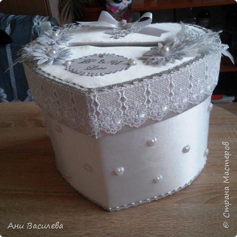Сватбена кутия за пари фото 3