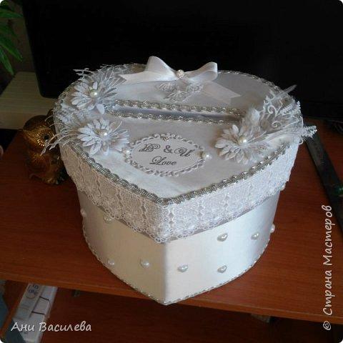 Сватбена кутия за пари фото 1