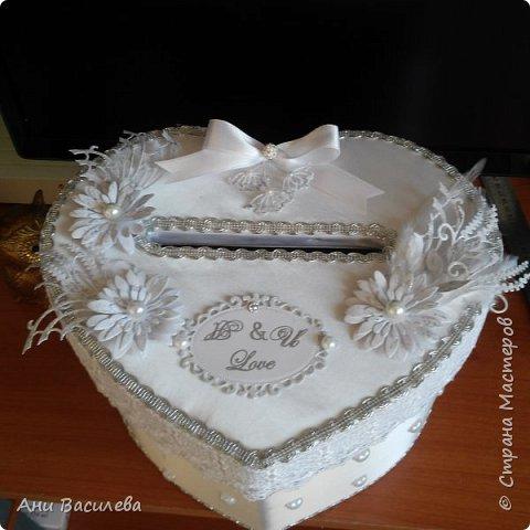 Сватбена кутия за пари фото 2