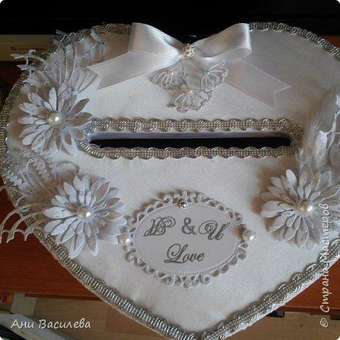 Сватбена кутия за пари фото 5