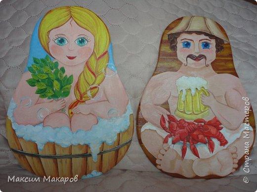 Здравствуйте! А вот еще некоторые работы Моей жены Татьяны, нарисовала она вот такие разделочные досочки, для украшения кухни. фото 4