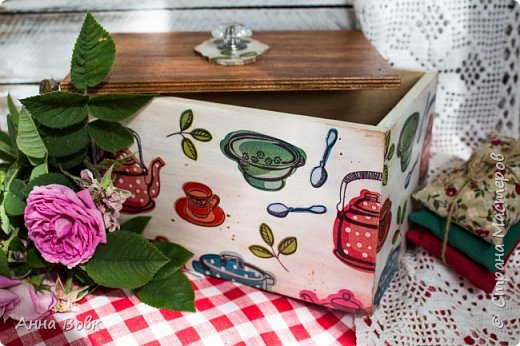 Короб для кухонных мелочей фото 1