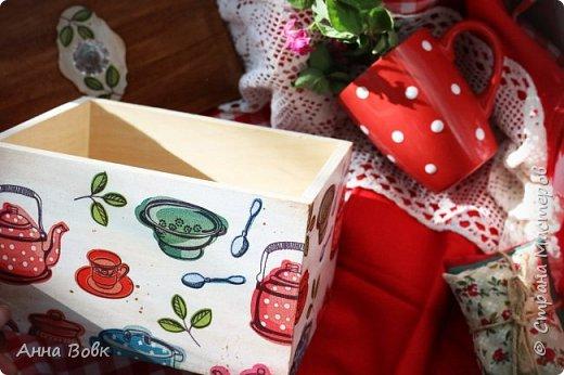 Короб для кухонных мелочей фото 2