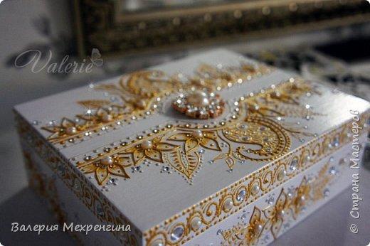 Свадебная шкатулка фото 3