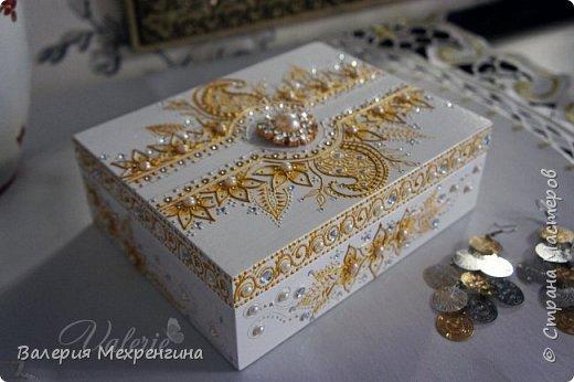 Свадебная шкатулка фото 4