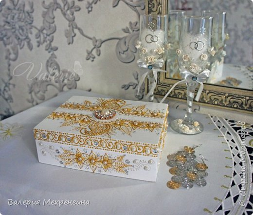 Свадебная шкатулка фото 1