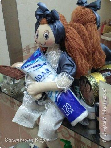 Кукла-держатель туалетной бумаги фото 18