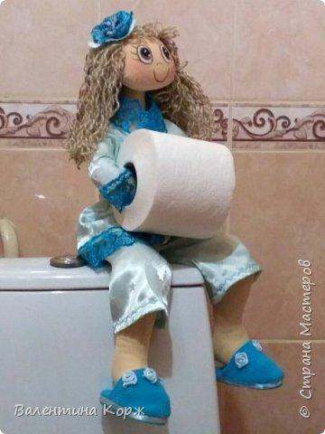 Кукла-держатель туалетной бумаги фото 19