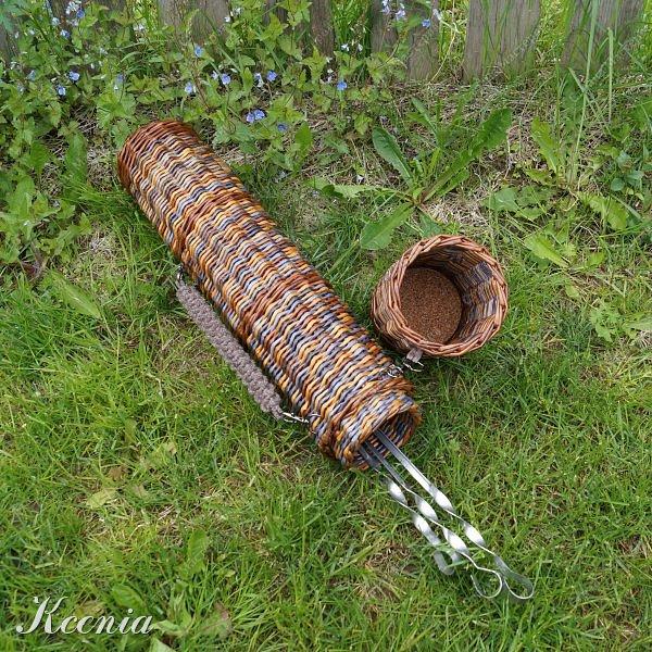 Здравствуйте, Жители Страны! Сегодня у меня тубус для шампуров.  фото 2