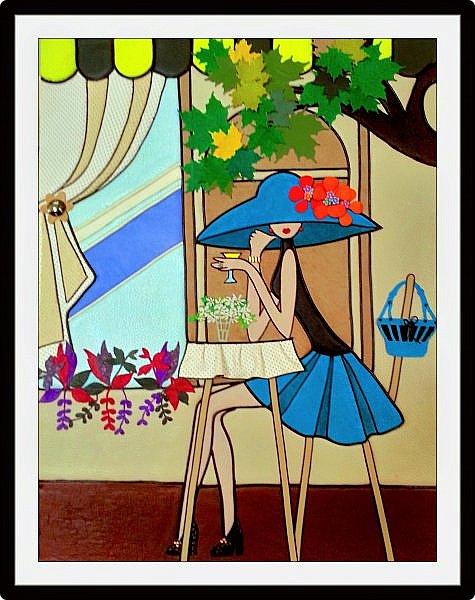 Девушка в шляпе фото 1