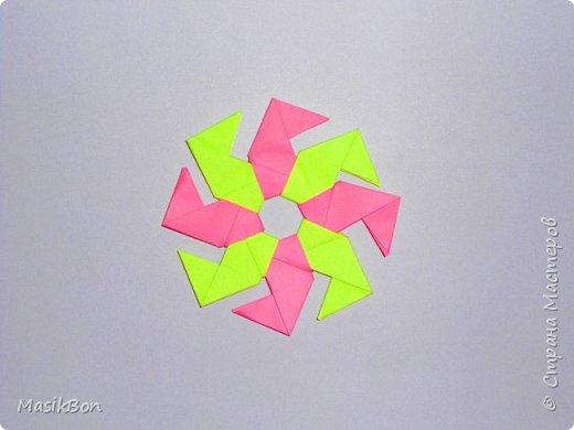 Звезда из бумаги. Модульное оригами