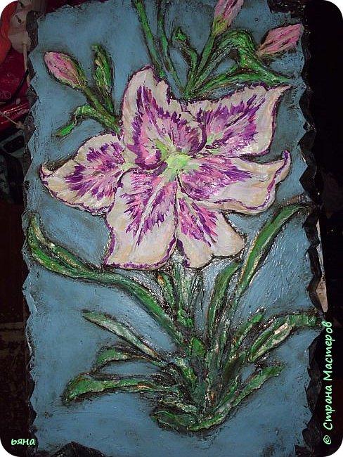Сваялся такой вот цветочек, лилия фото 6