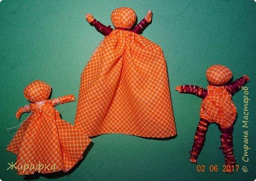 Кукла- Покосница, девочка и мальчик. фото 1