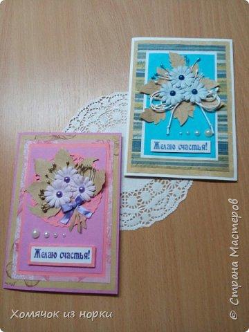 Хочу показать пару моих творений:)) Они такие разные, но так похожи.. Размер 10*15 см фото 2