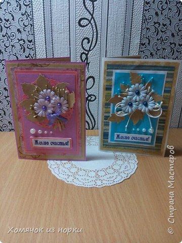 Хочу показать пару моих творений:)) Они такие разные, но так похожи.. Размер 10*15 см фото 1