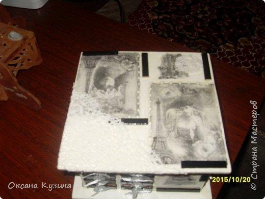 Комодик-шкатулка фото 4