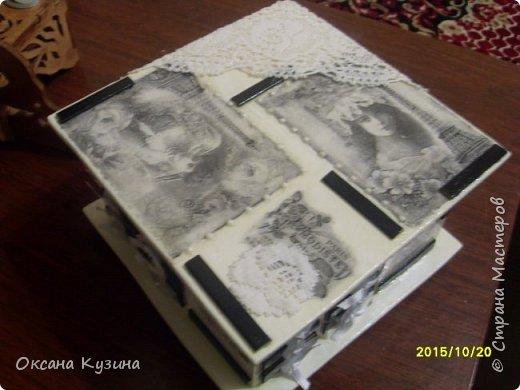 Комодик-шкатулка фото 2