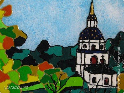 Уж очень захотелось порисовать... Опять таки в интернете нашла фото Киевского монастыря на Выдубичах фото 2