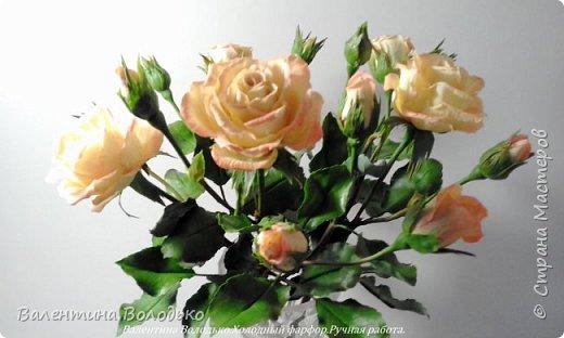 Добрый вечер мастера и мастерицы!!!!Вот такой букет роз слепила для себя любимой,а то сапожник без сапог,в доме не осталось ни одной розы. фото 6
