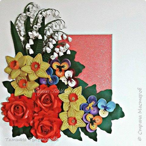 Накопились у меня разные цветочки, и решила я из них сделать небольшие декоративные панно.... фото 8