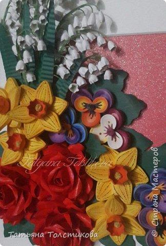 Накопились у меня разные цветочки, и решила я из них сделать небольшие декоративные панно.... фото 10