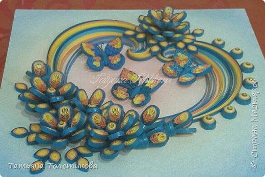Накопились у меня разные цветочки, и решила я из них сделать небольшие декоративные панно.... фото 12