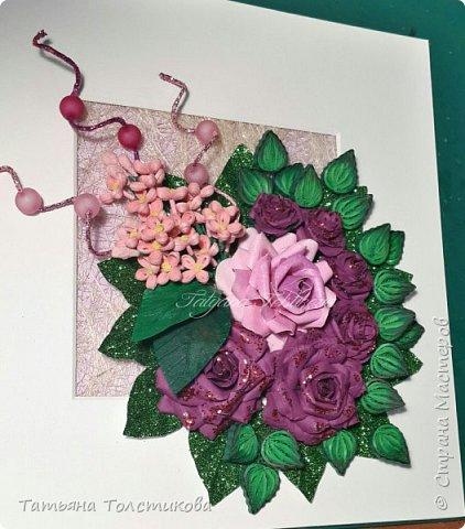 Накопились у меня разные цветочки, и решила я из них сделать небольшие декоративные панно.... фото 16