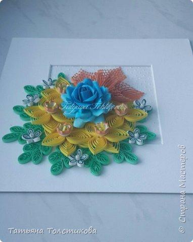 Накопились у меня разные цветочки, и решила я из них сделать небольшие декоративные панно.... фото 7
