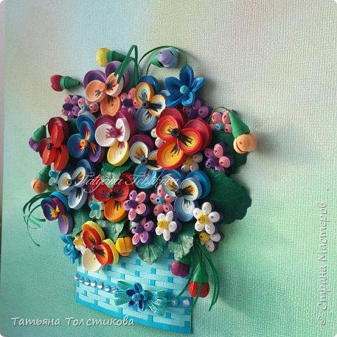Накопились у меня разные цветочки, и решила я из них сделать небольшие декоративные панно.... фото 2