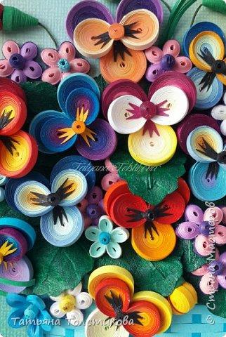 Накопились у меня разные цветочки, и решила я из них сделать небольшие декоративные панно.... фото 3