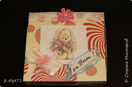 Здравствуйте!!! Сделала немного подарочков и решила сразу показать)) Это подарочек для  Вики        http://stranamasterov.ru/user/400747 фото 30