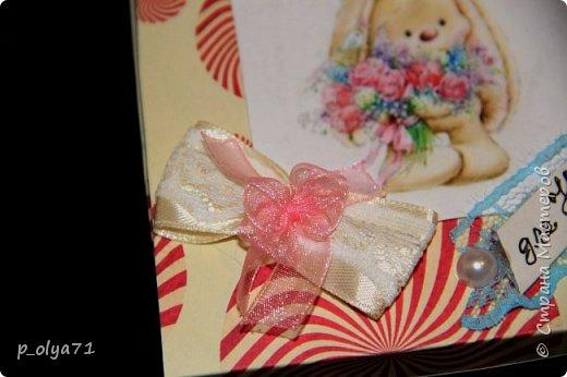 Здравствуйте!!! Сделала немного подарочков и решила сразу показать)) Это подарочек для  Вики        http://stranamasterov.ru/user/400747 фото 32