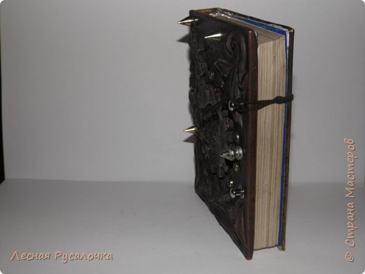 Блокнот  ручной работы  , материал медь  коричневые страницы под старину  . Украшение хоттей  талисман удачи и процветания фото 1