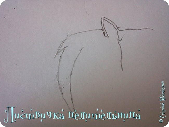 Всем привет! Сегодня я покажу вам, как нарисовать персонажа книги Коты-воители. Её зовут Пестролистая. фото 5