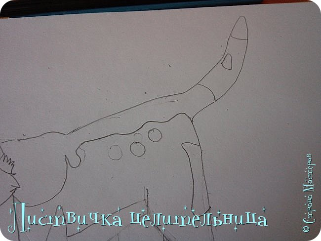 Всем привет! Сегодня я покажу вам, как нарисовать персонажа книги Коты-воители. Её зовут Пестролистая. фото 18