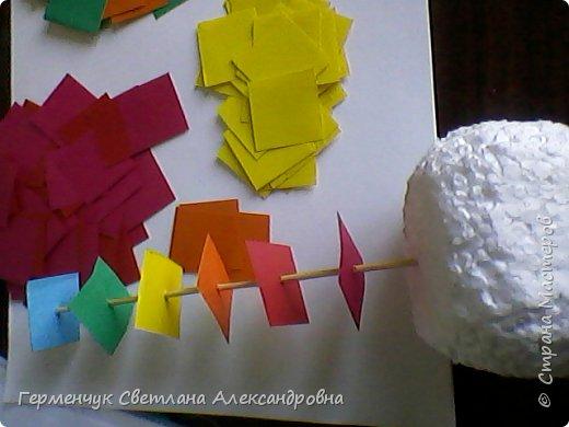 Такой подвеской - мандалой      можно украсить помещение  для праздника  .На фото  видны колокольчики   внизу подвески  ( фото № 6, 8)   фото 5
