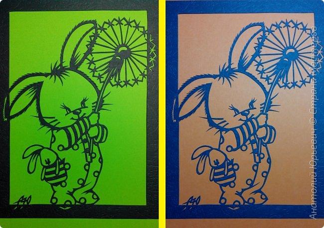 """- Всем добрый день! Вашему вниманию новая открытка которая порадует не только детей, но и взрослых. - Эскиз был выполнен, изменён и доработан под """"вырезалку"""" по работе детского художника-иллюстратора Марины Федотовой.  - Размер 12х16см. фото 9"""