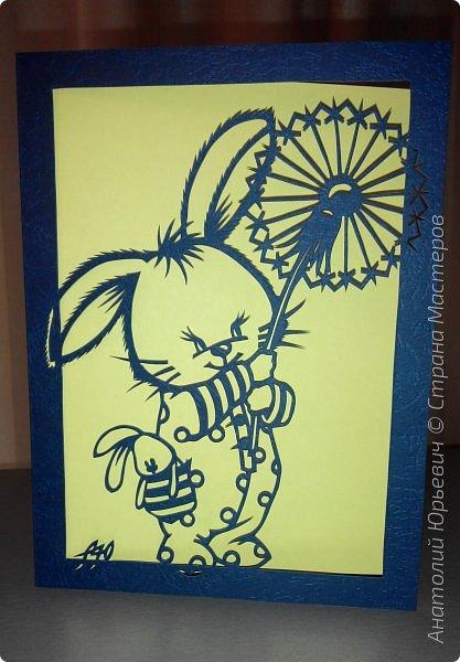"""- Всем добрый день! Вашему вниманию новая открытка которая порадует не только детей, но и взрослых. - Эскиз был выполнен, изменён и доработан под """"вырезалку"""" по работе детского художника-иллюстратора Марины Федотовой.  - Размер 12х16см. фото 11"""