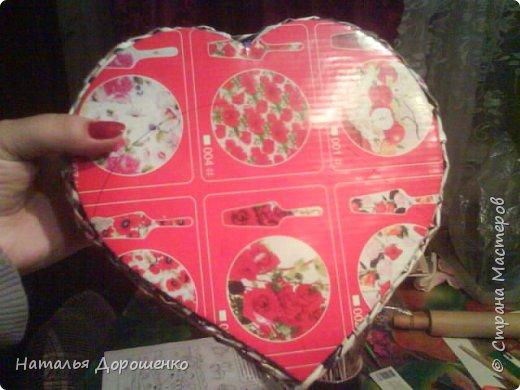 Шкатулка сердце фото 14