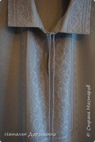 """Вишиванка-мечта, """"сапожник с сапогами"""". материал блузки-лен. фото 14"""